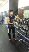 Matrix Fitness - dumbell set